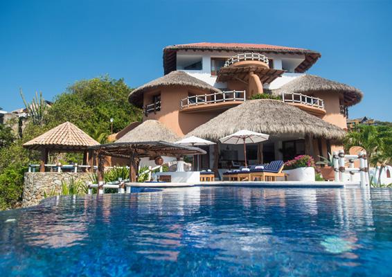 Gallery Villa Boutique Hotel El Murmullo Sea Side Zihuatanejo Mexico